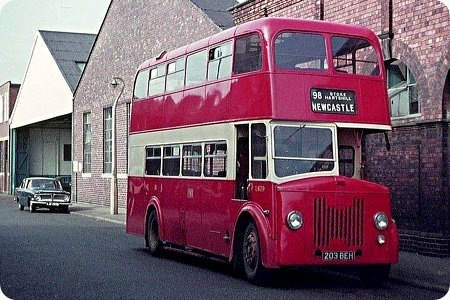 1957 Leyland Titan PD2-20 203-BEH Willowbrook L27 28R