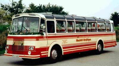 1957 LIAZ 706 RO LIAZ Skoda 706 11781cc  Hiller-Aufbau 1957