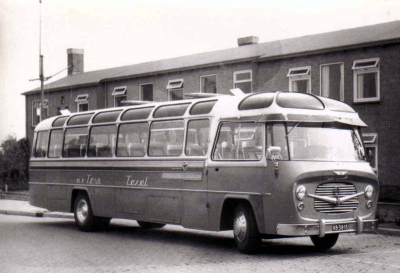 1957 TESO Texel 20 König Volvo