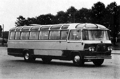 1957 Volvo-König met 46 zitplaatsen
