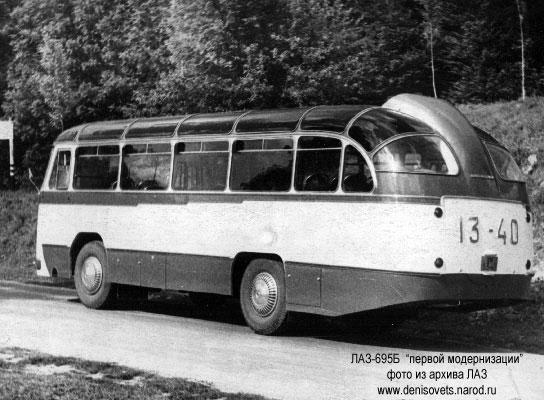 1958 LAZ 695 B