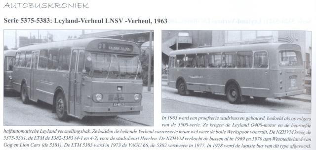 1958 Leyland Verheul » Leyland 5375 serie 5300