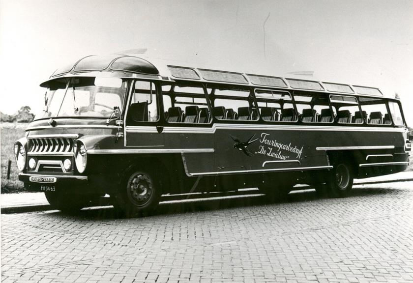 1958 Scania Vabis, busnummer 5