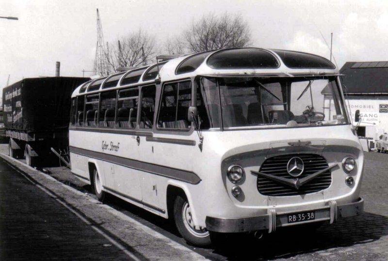 1958 Streef 7 König Mercedes Benz