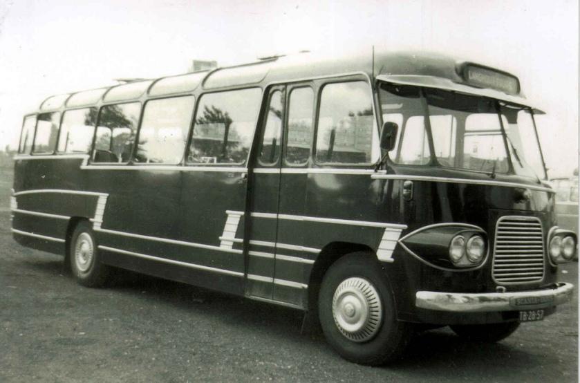 1958 TB-28-57 Scania-Vabis carr. Edesche Carrosserie Fabriek