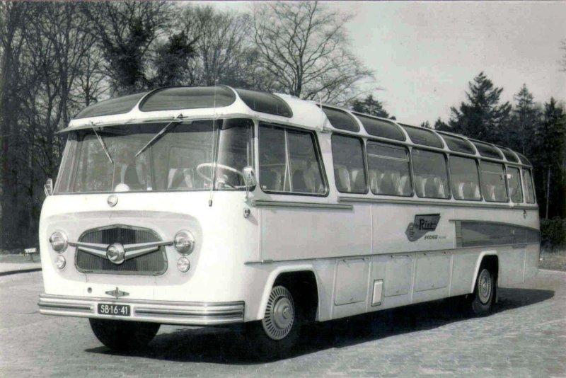 1958 Ter Riet 8 König Mercedes Benz