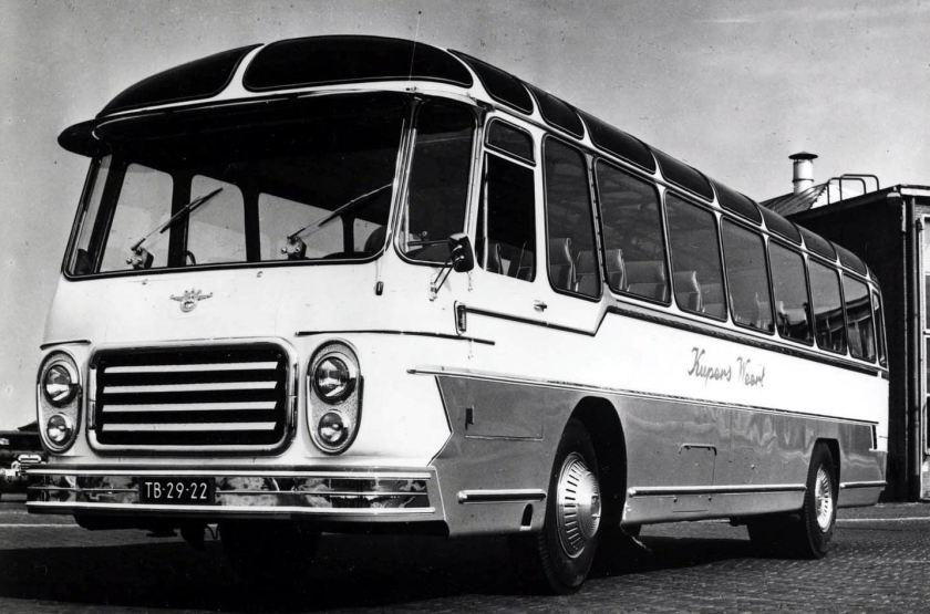 1959 DAF autobus TB160D met Kusters