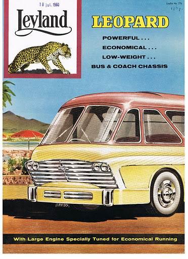 1959 LEYLAND Leopard No 776