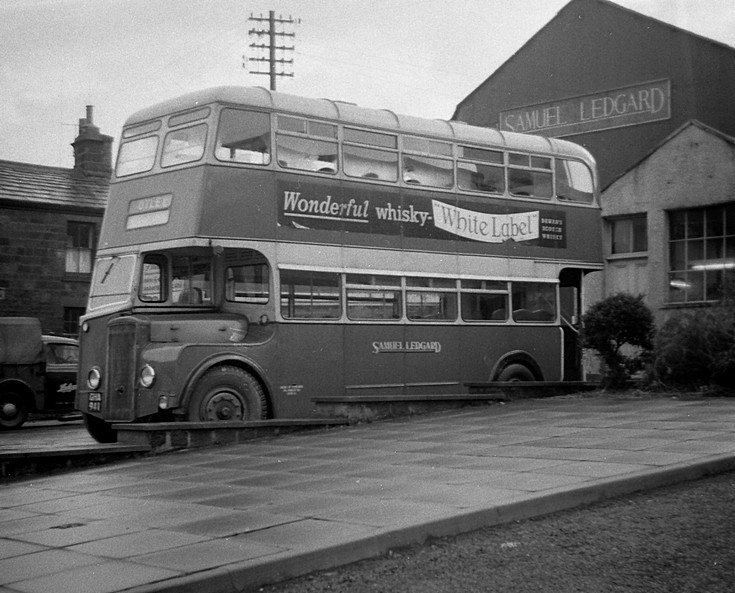 1960 GHA941 Samuel Ledgard Daimler seen in Otley