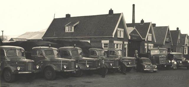 1960 Kromhout wagenpark 1960