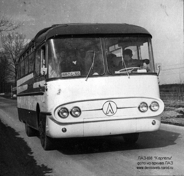 1961 LAZ 698 1