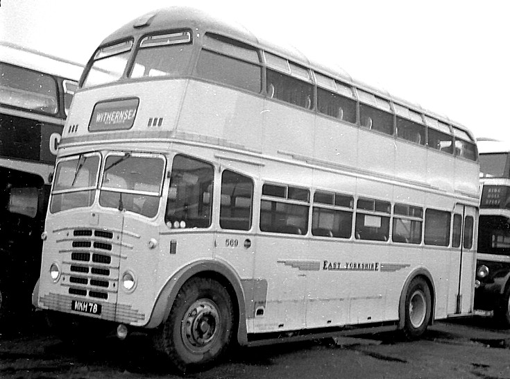 1961 Leyland East Yorkshire 5381