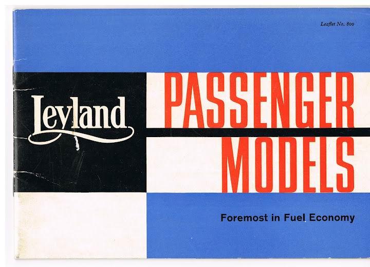 1961 LEYLAND Leaflet no 800