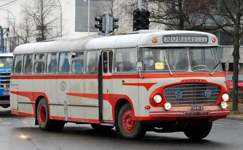 1962 Ajokki Scania Vabis 1962