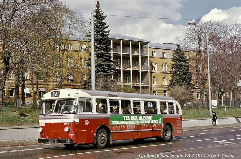 1962 CUR 214 ─ Scania Vabis C75 Capitol, SL 5494