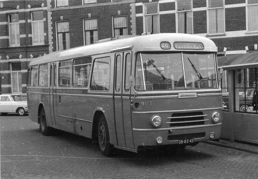 1962 Kromhout BBA bus 903 Breda