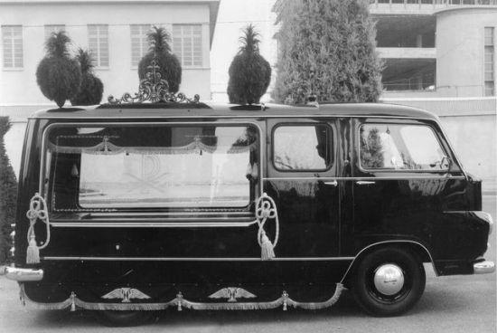 1962 Lancia Jolly 1100 Funebre Carrozzeria Bonfanti