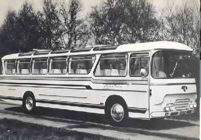1962 Leyland RTC LRTC 1-1 Leyland carr Stoelen GTW 23