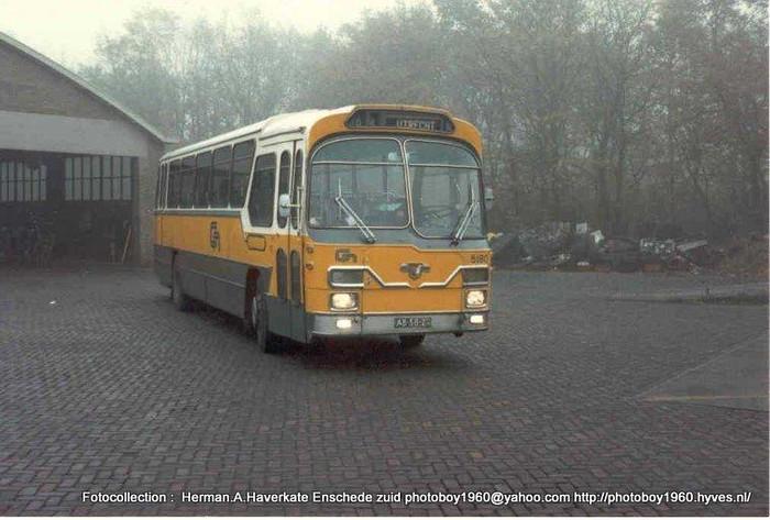 1962 Leyland Verheul CN Busdiensten Utrecht