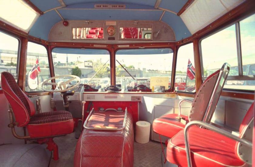 1962 Scania-Vabis B75-58LV with 11.14 metre 36 seat coachwork by the Repstad Brothers