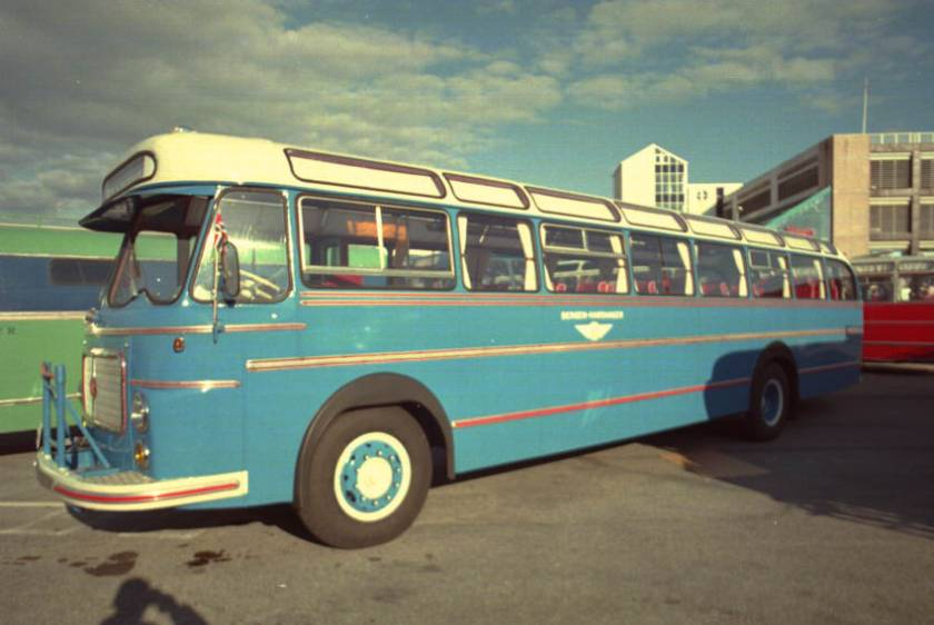 1962 Scania-Vabis B75-58LV with 11.14 metre 36 seat coachwork by the Repstad Brothers.
