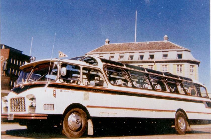 1962 Scania-Vabis B7563 chassis. Body by LIER KAROSSERI, DRAMMEN. Strada