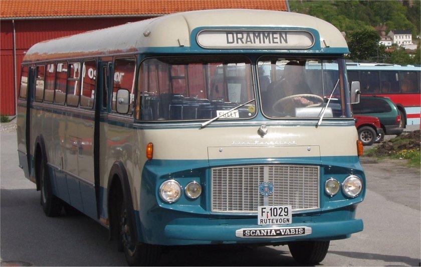 1962 Scania vabis buss