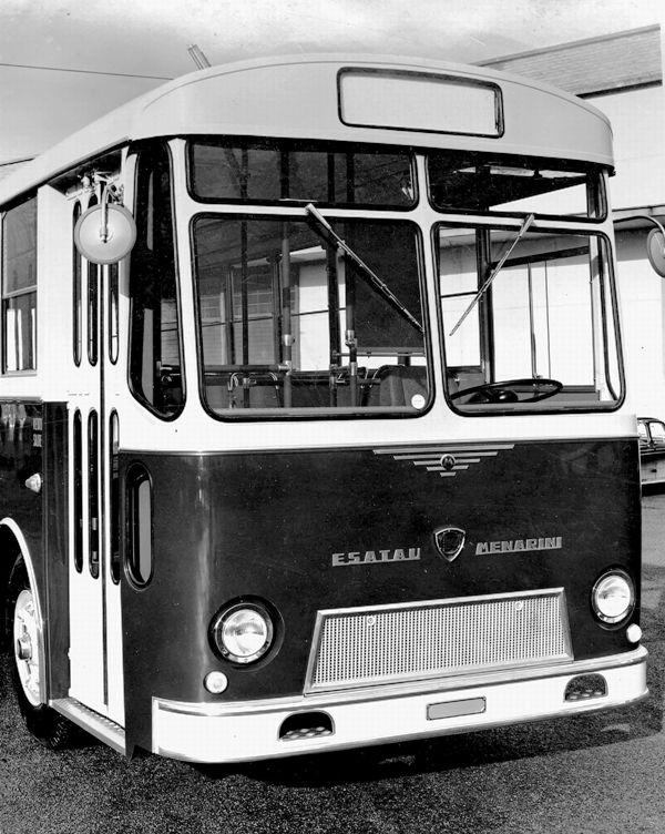 1963 LANCIA ESATAU 703 MENARINI, 3ª serie (1963)