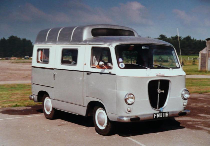 1963 Lancia Jolly 1100 Camper