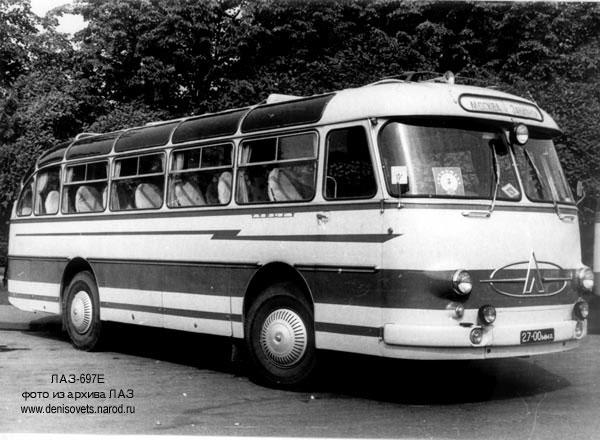 1963 LAZ 697E 1