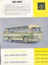 1963 LAZ LVOV 695E Transit Bus
