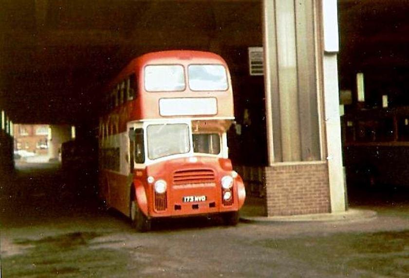 1963 Leyland Albion Lowlander LR7 with Alexander body