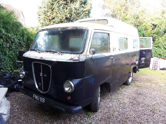 1964 Lancia Appia Jolly Camper Van Front