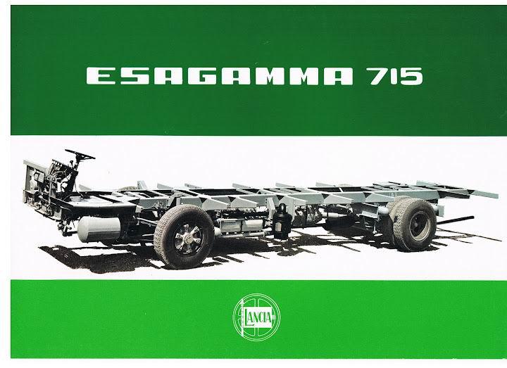 1965 LANCIA Esagamma 715