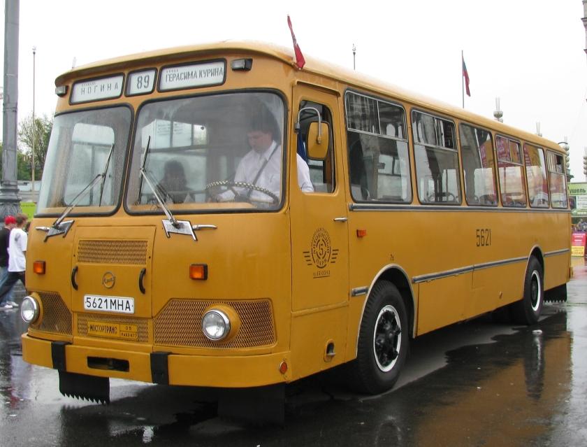 1965 Liazik 677M Moskou