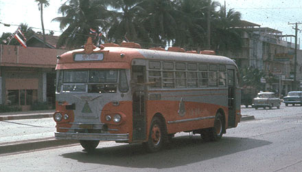 1965 Scania 436 Bangkok Thai