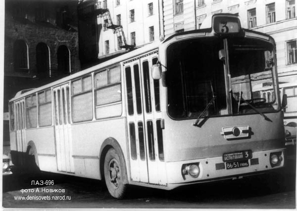 1966 LAZ 696 2