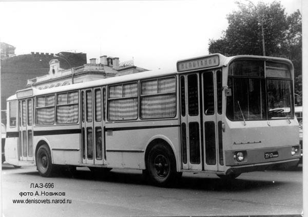 1966 Laz-696 4x2 34s 84p