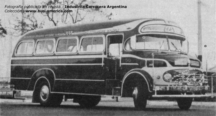 1966 Mercedes-Benz LO 1112 - La Favorita - San José de Flores