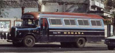 1966 Mercedes BenzCarrocería La Favorita. Fabricado entre 1966 y 1973