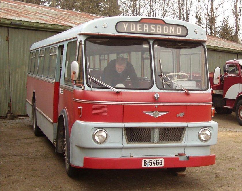 1966 Scania-Vabis B56 fra