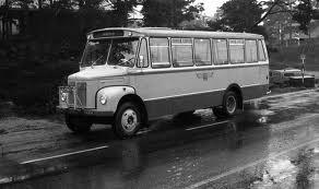 1966 Scania Vabis L36S levert som buss til Åmot-Engerdal Bilselskap fra T.Knudsen karosserifabrikk