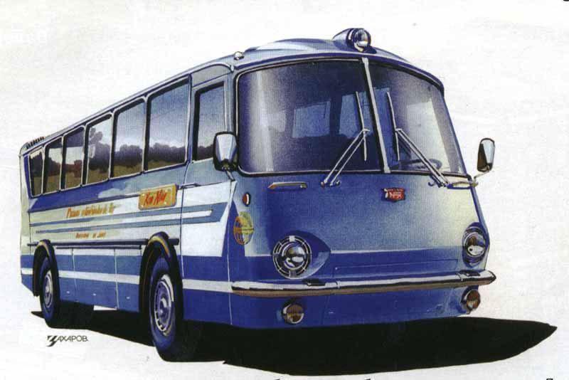 1967 LAZ UKRAINA67 5