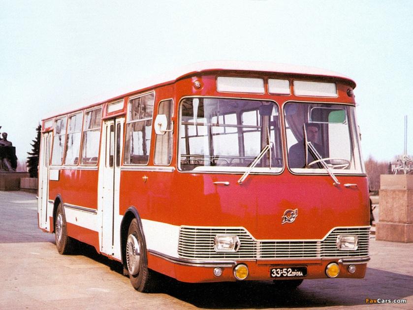 1967 LiAZ 677 1967–78