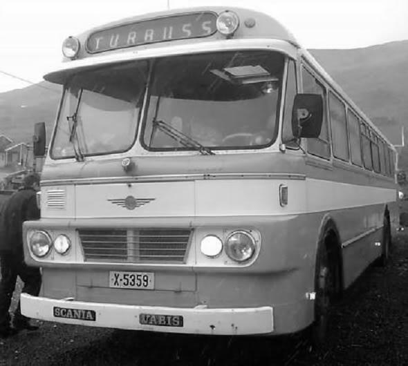 1967 Scania-Vabis B56-58 vin 501996 Larvik 11936-1967