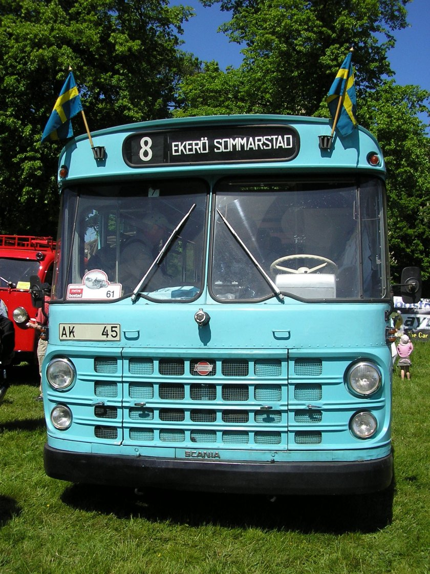 1967 Scania-Vabis BF76-59 Zweden