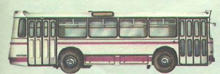 1968 LAZ 698 26s 105p 4x2