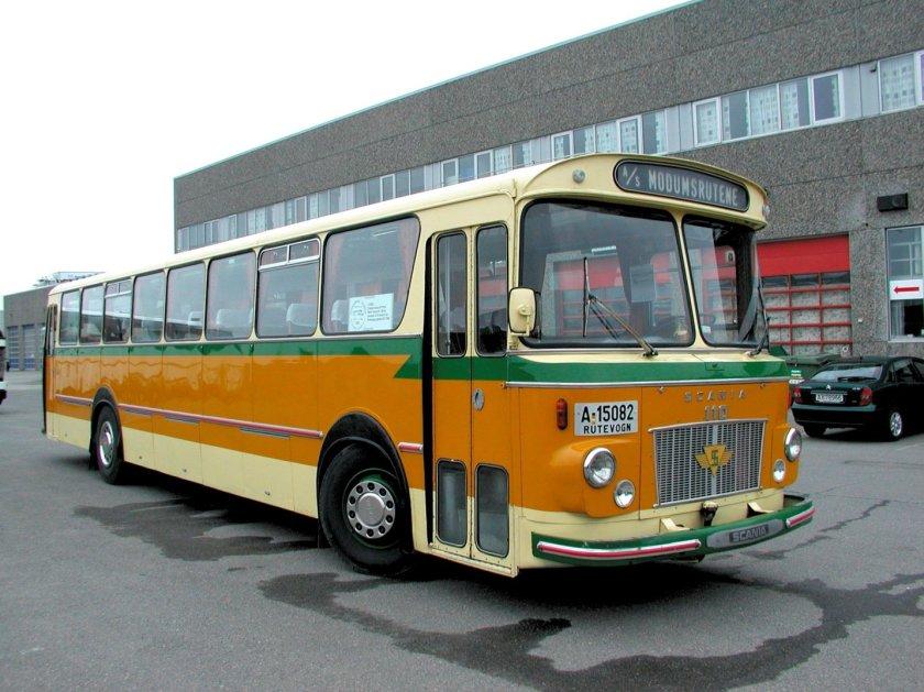 1968 Scania BF110-63 fra med karosseri fra