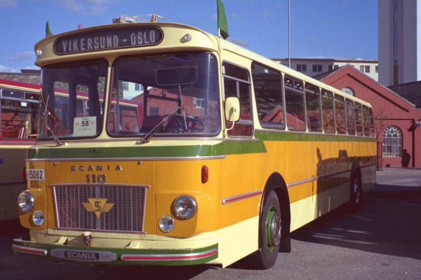 1968 Scania BF110-63 with Iversen 49 seat coachwork