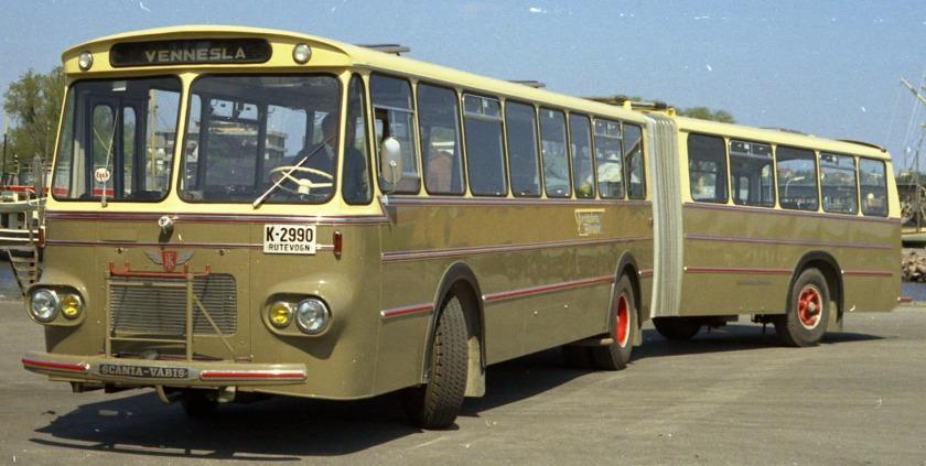 1968 Scania Vabis T Knudsen Kar.fabrikk.1171b-68-004